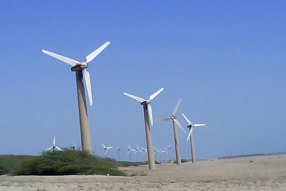 Windfarm Mandvi beach