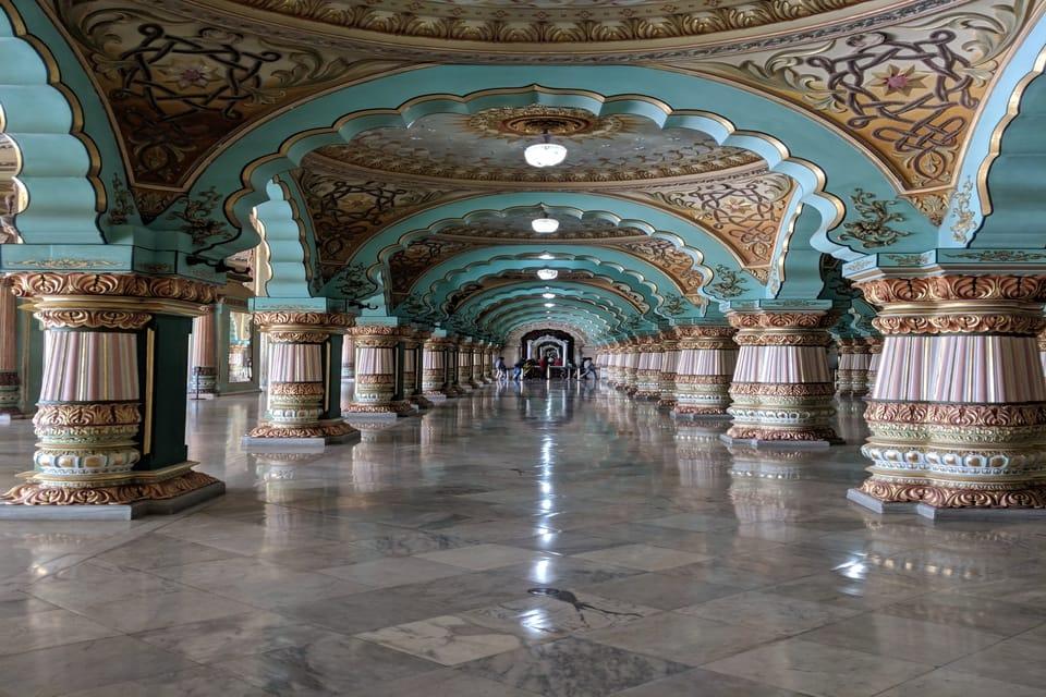 Audience hall - Mysore Palace