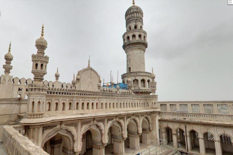 Mosque on Second Floor, Chaarminar
