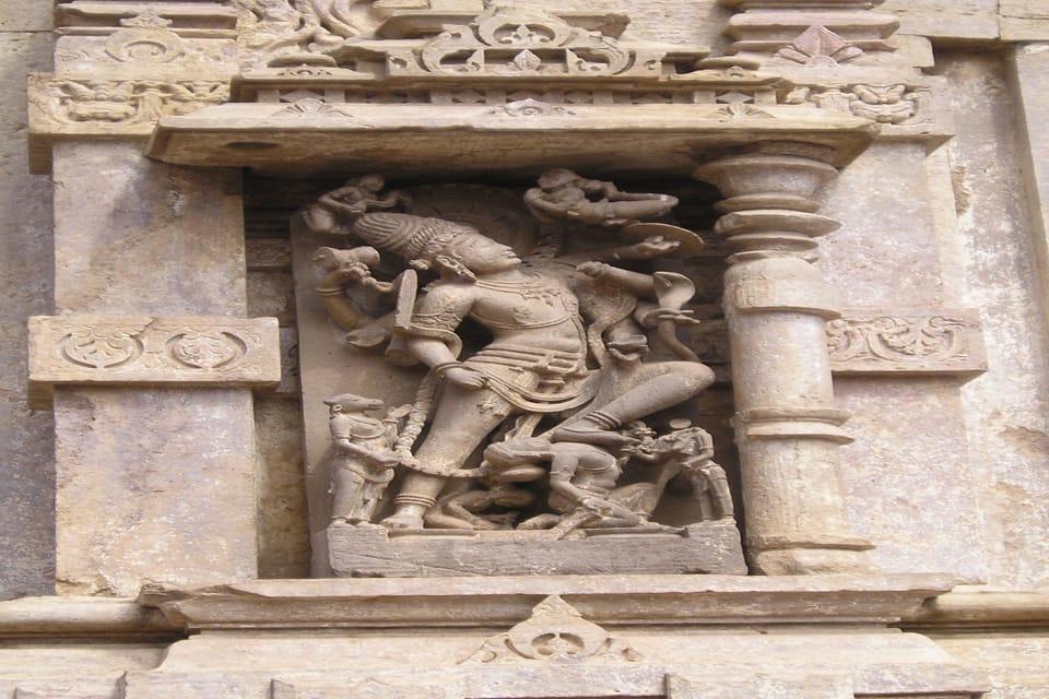 Omkareshwara Temple - Sculpture