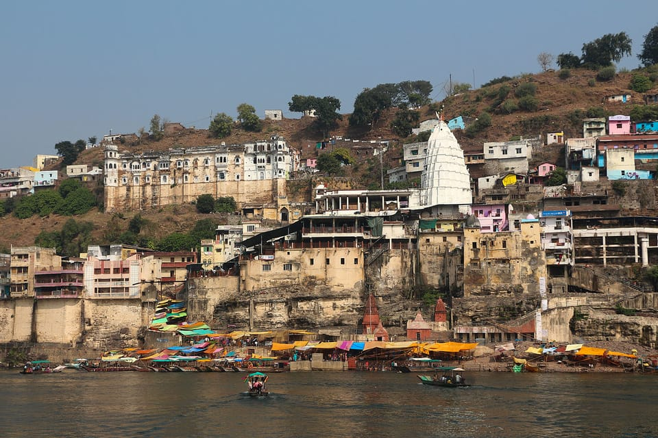 Omkareshwara Temple - view