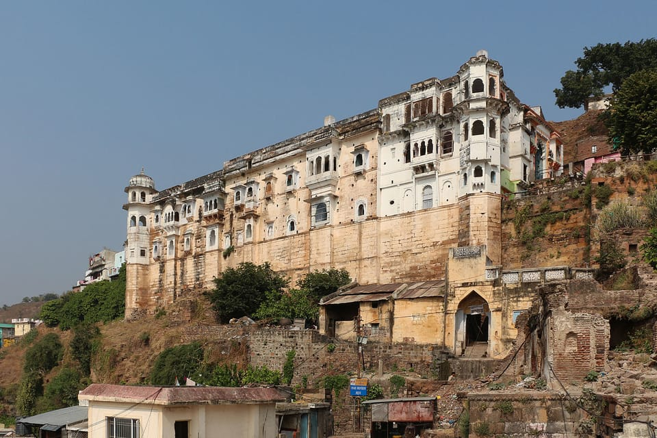Omkareshwara Palace - view