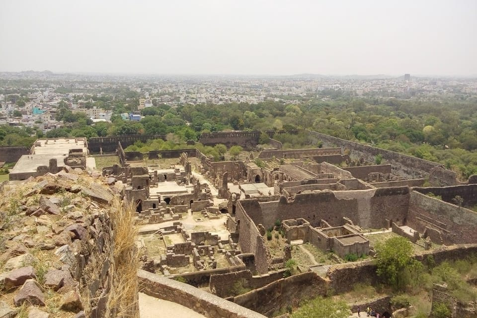 Ruins of Golconda Fort