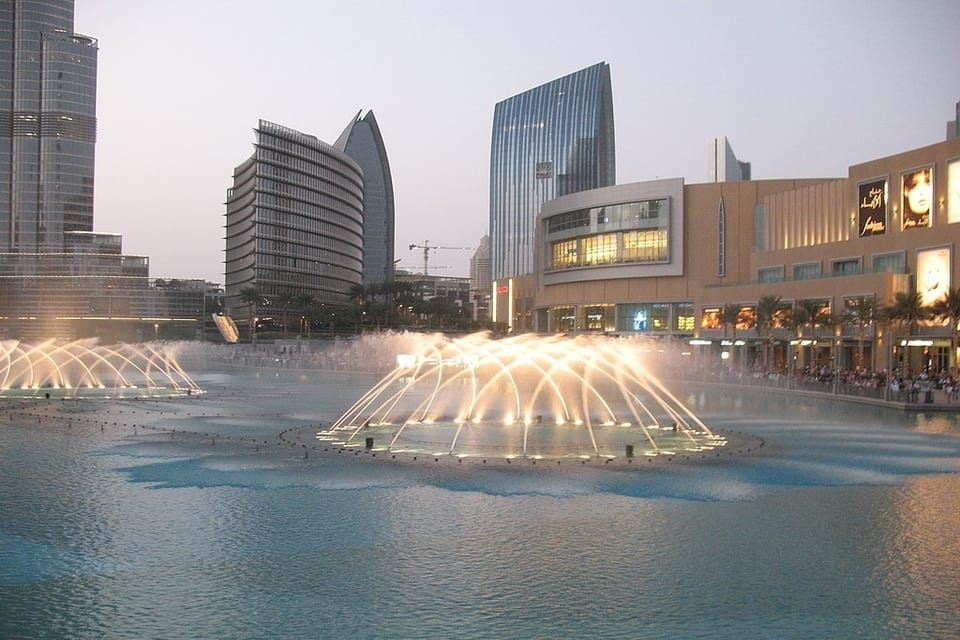 Dubai Fountain view