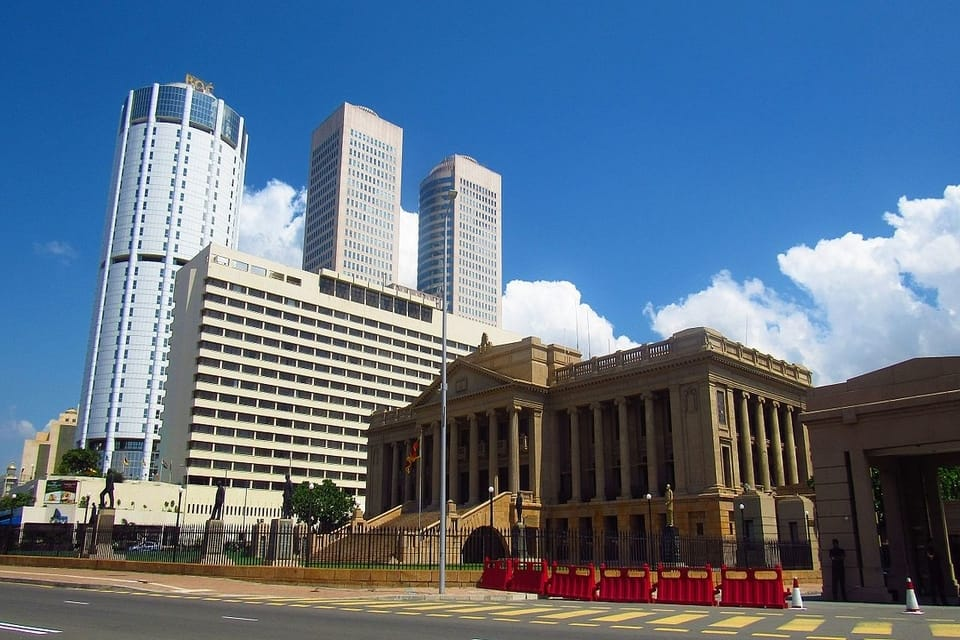 Old Parliament, Colombo