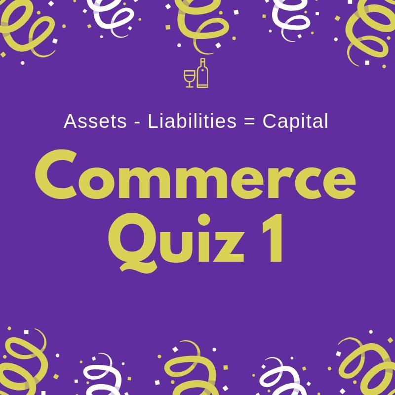 Commerce Quiz 1