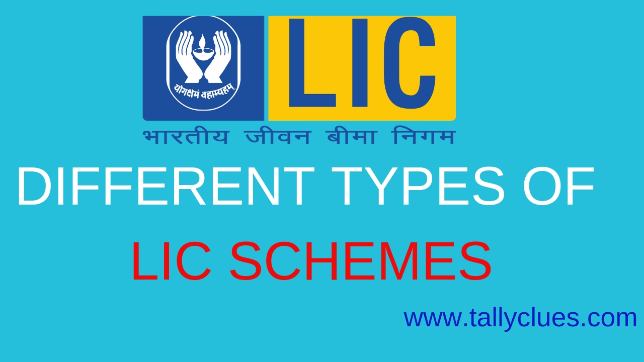 Different Types of LIC Schemes