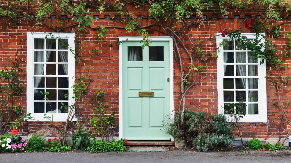 Traditional British Front Door