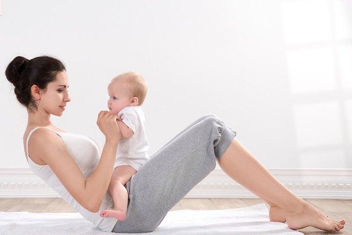 Pre and Post Pregnancy Body