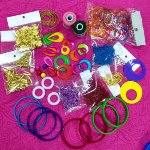 Silk thread jewellery materials in Guindy