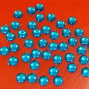 8MM ROUND SHAPE KUNDANS LIGHT BLUE
