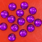 8MM ROUND SHAPE STONES PURPLE