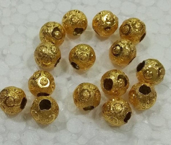 ANTIQUE BEADS 10MM ONE PIECE