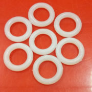 PLASTIC RINGS 2CM ONE PAIR