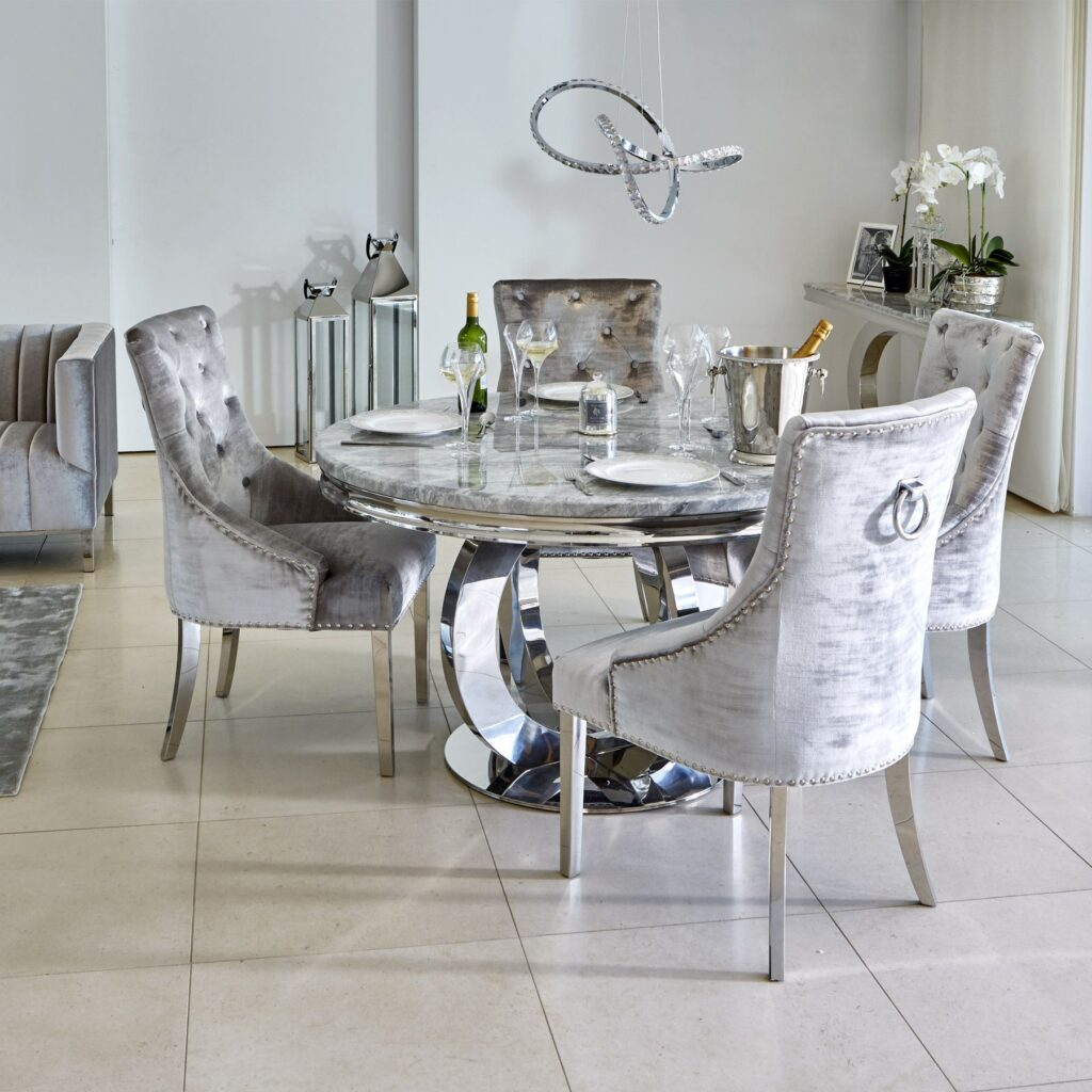 quality furniture marble dining set