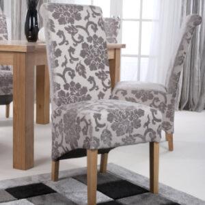 mink velvet dining chair