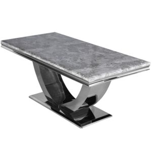 Light Grey 1.6m Marble Table