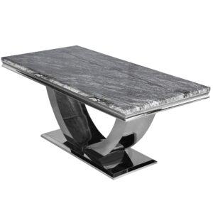 1.8m dark grey marble
