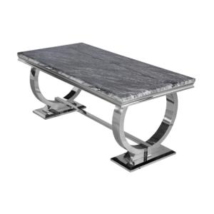 dark grey Arianna dining table