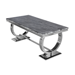 2 metre marble dining table