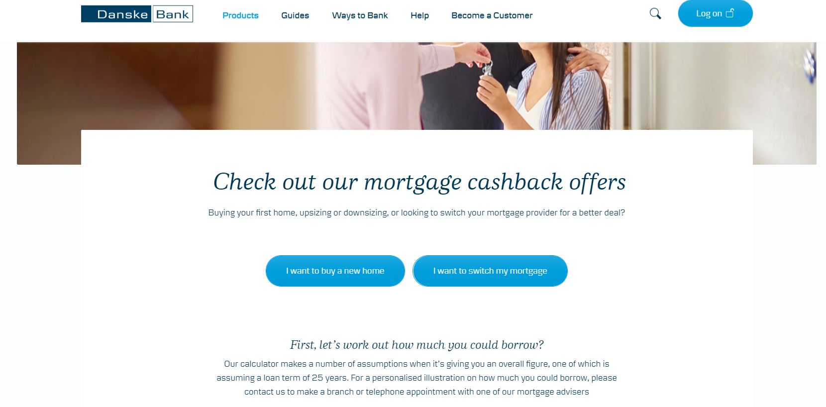 danske bank mortgage cashback