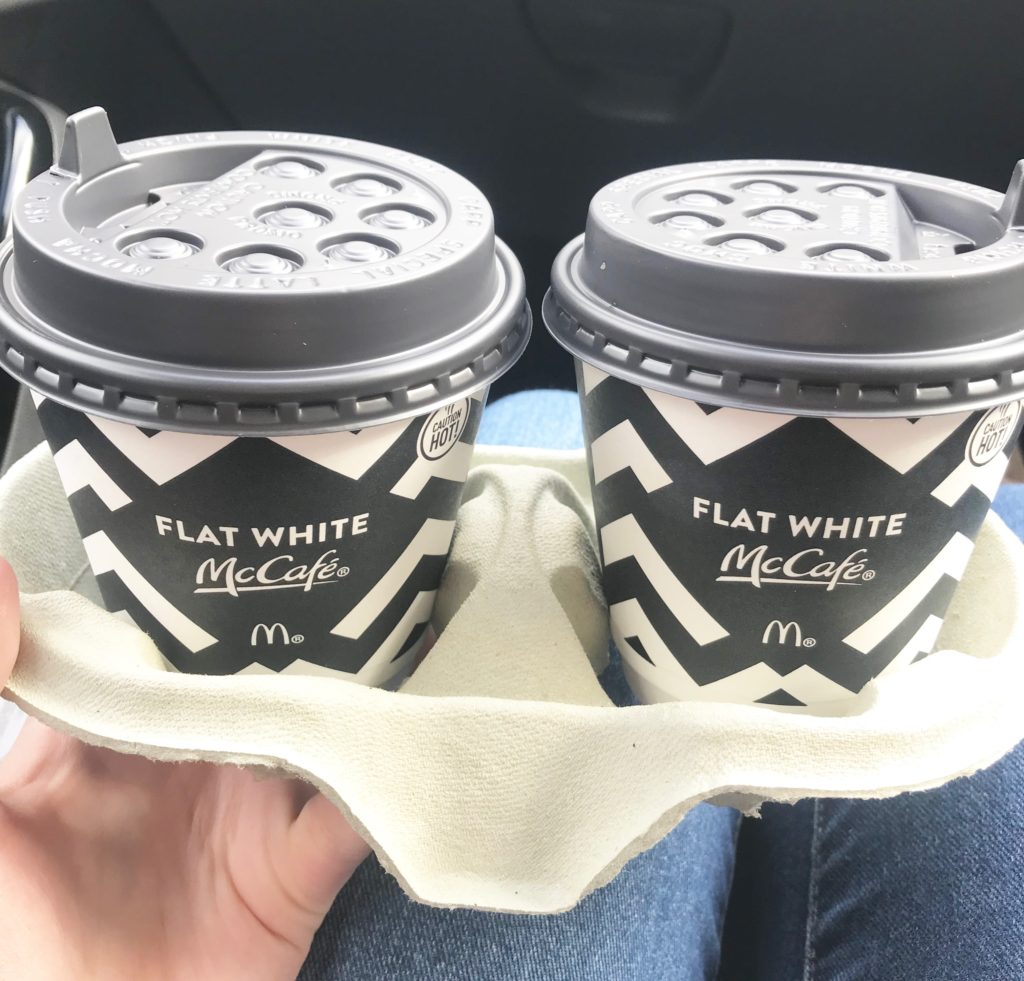 free McDonald's Coffees