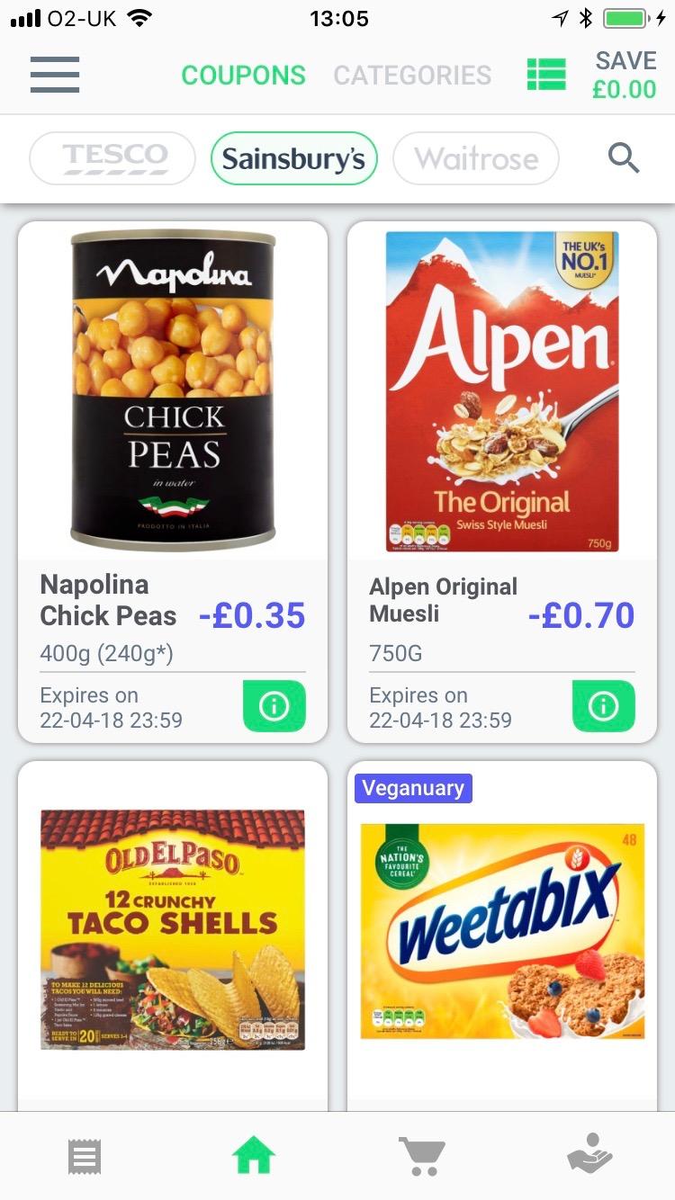 Green Jinn Supermarket Cashback App