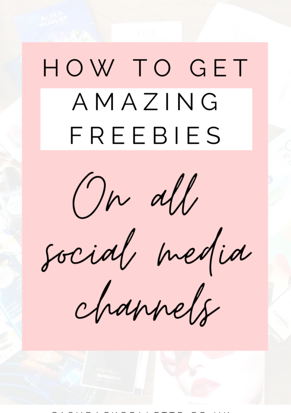 get freebies on social media