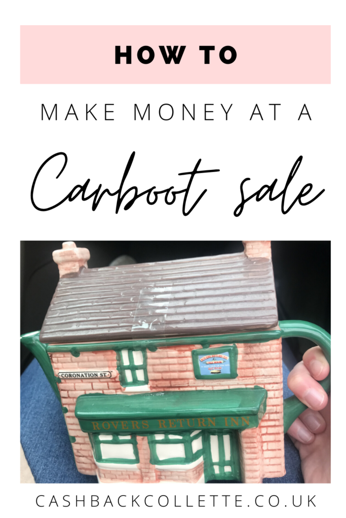 make money at a car boot sale