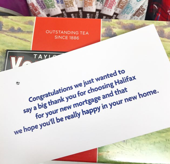 free hamper from mortgage halifax