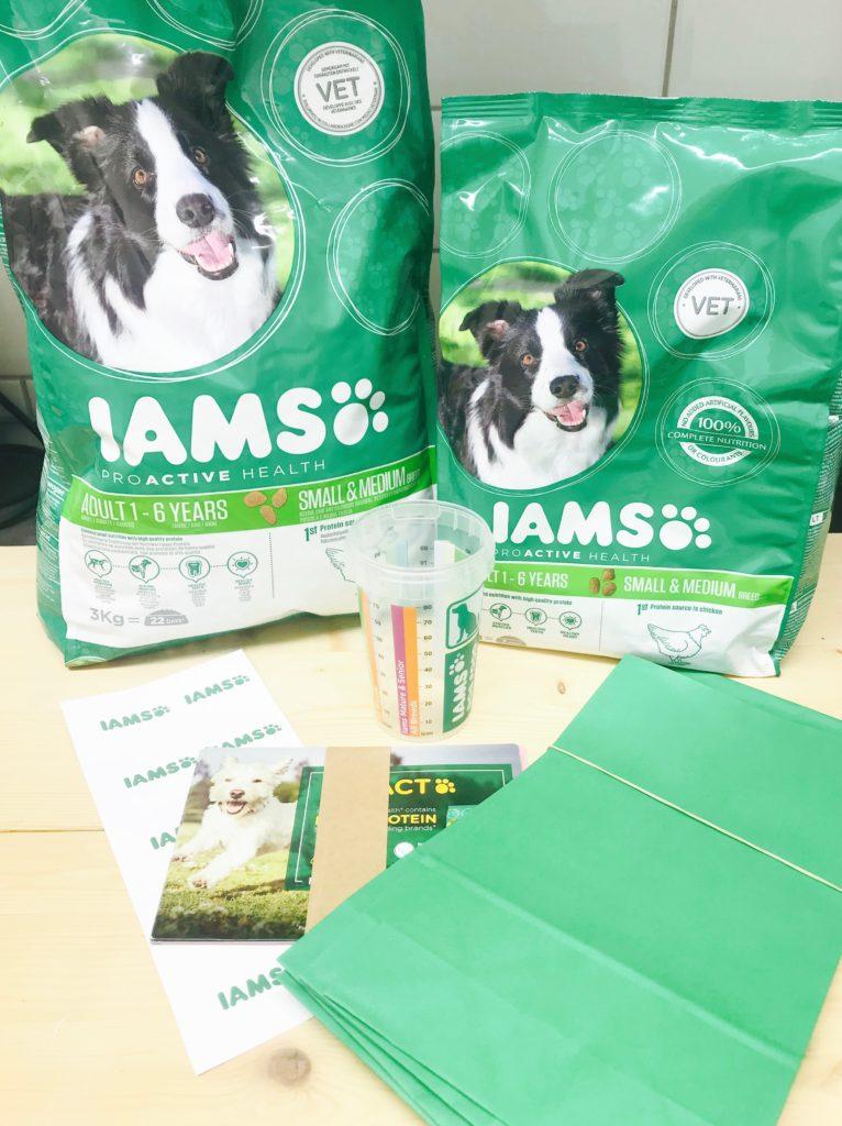 free trnd IAMS dog food