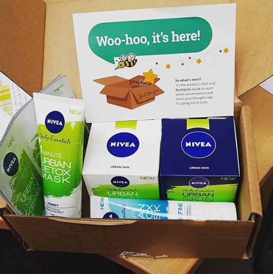 bzzfeed nivea box products free stuff freebies