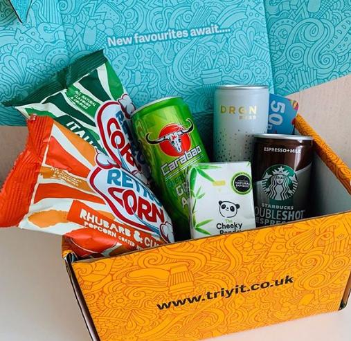 triyit.co.uk product testing box website