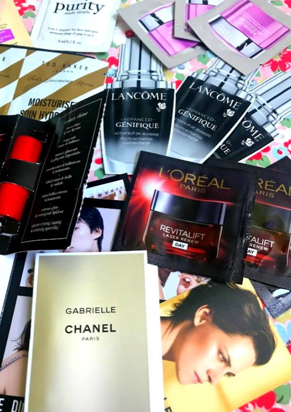 free makeup and beauty products