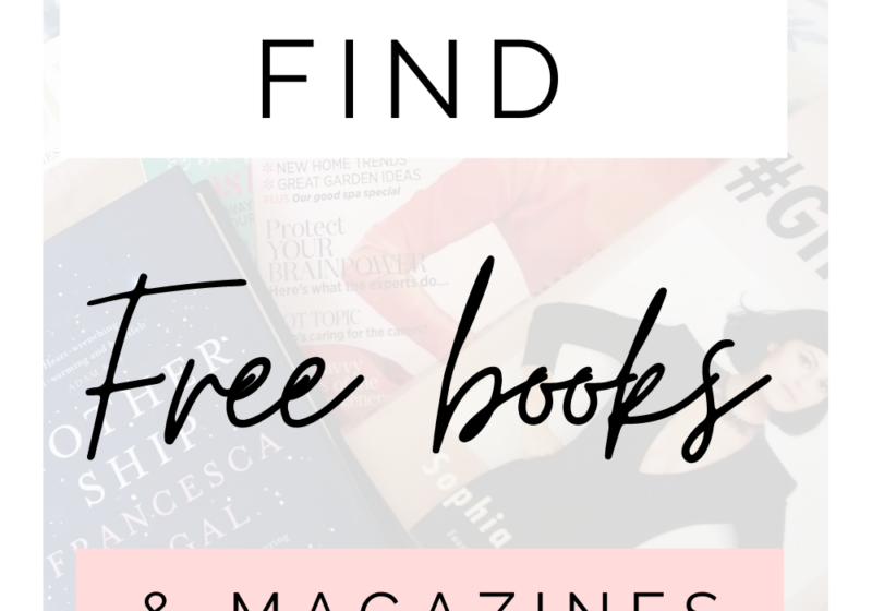 How To Get Free Books & Magazines