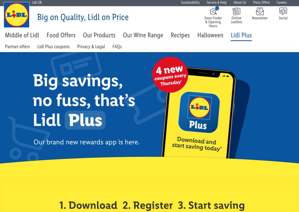 Lidl loyalty app scheme