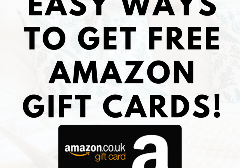 50+ Easy Ways To Get Free Amazon Gift Cards