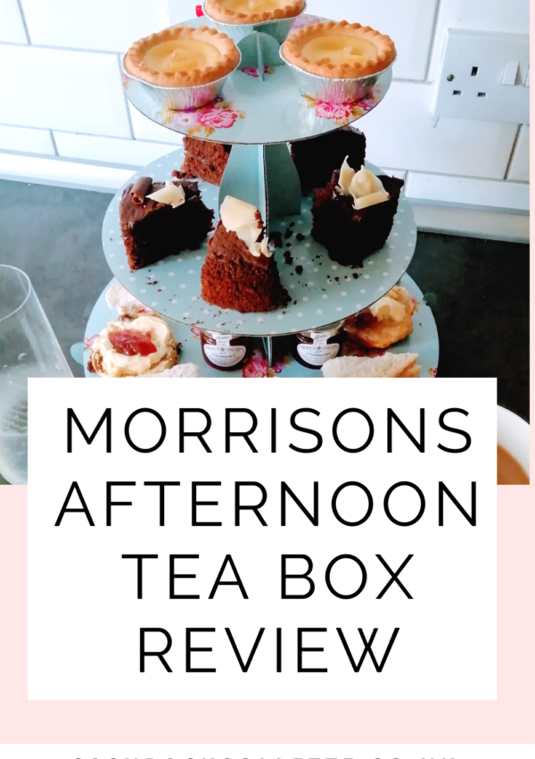 Morrisons Afternoon Tea Box – What's Inside & Is It Worth The Cost? (Plus Discount Code)