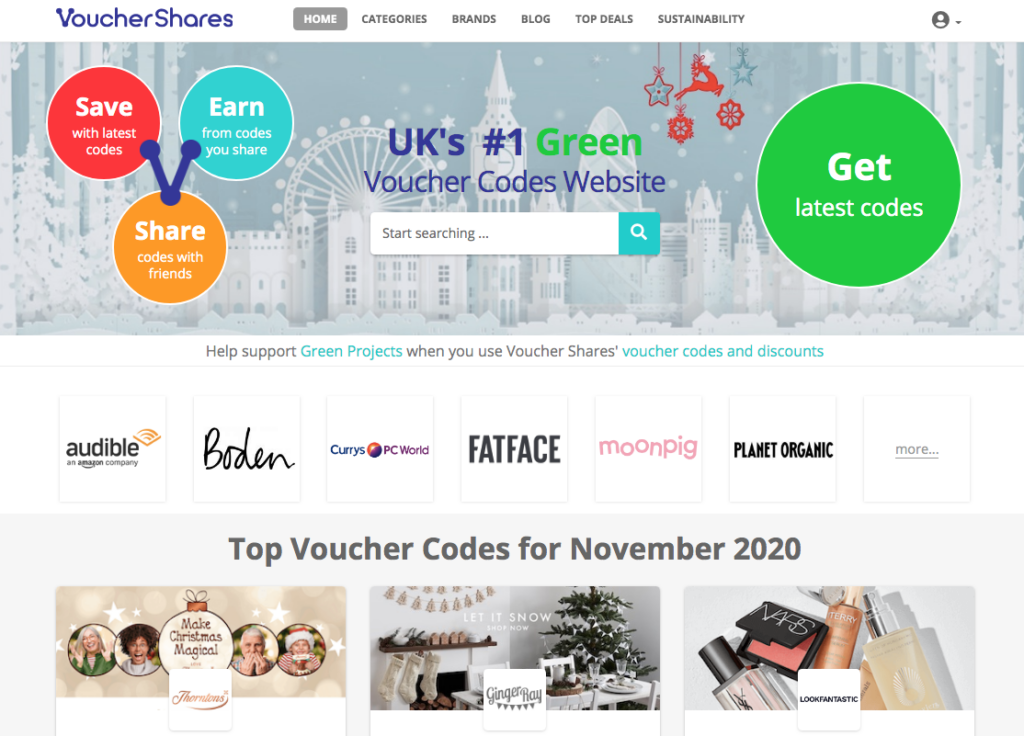 voucher shares website