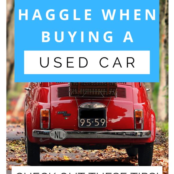 haggle buying used car