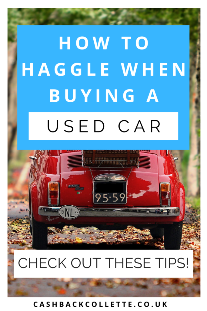 haggle buying used car