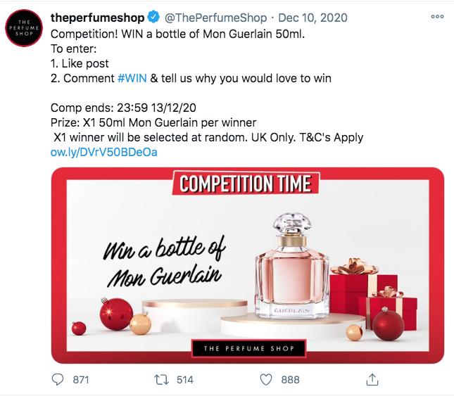 win free perfume