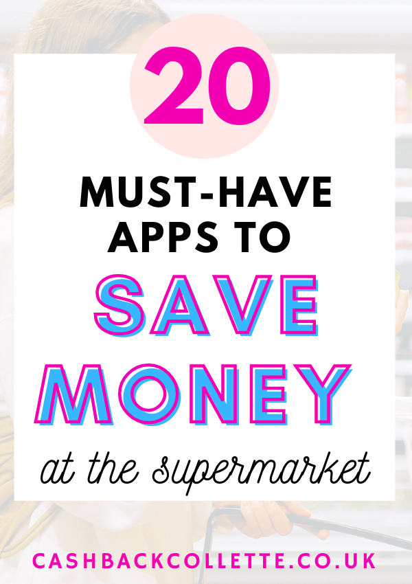 best money saving apps to save money at the supermarket