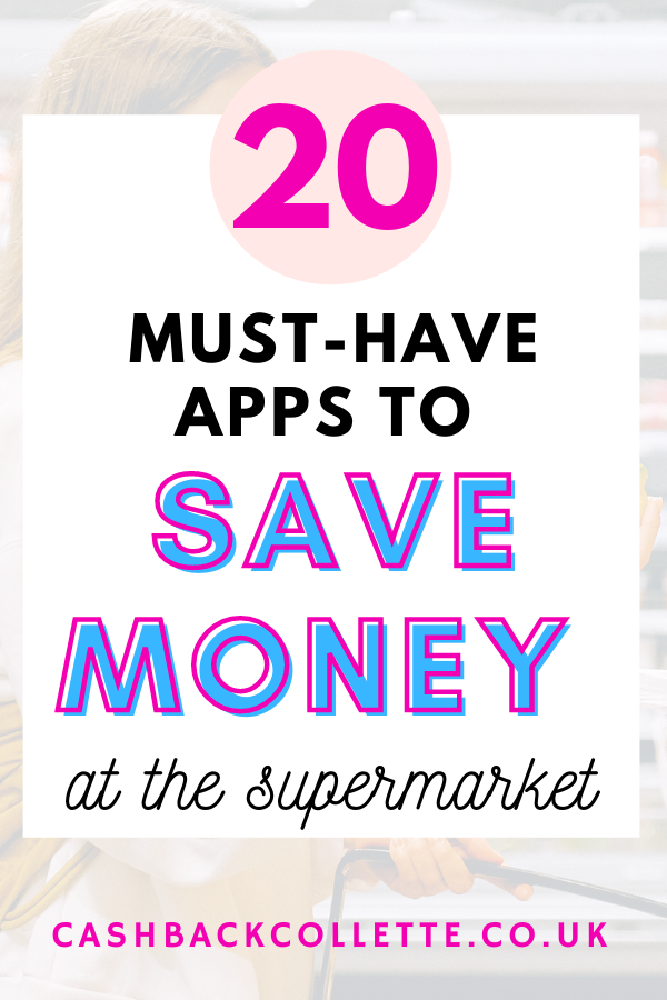best money apps to save money at the supermarket