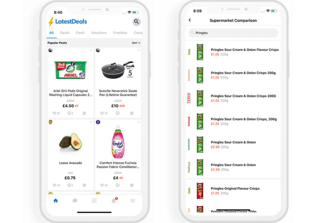Latest Deals Supermarket Comparison App
