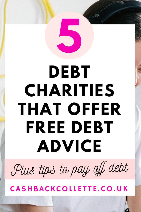 DEBT CHARITIES