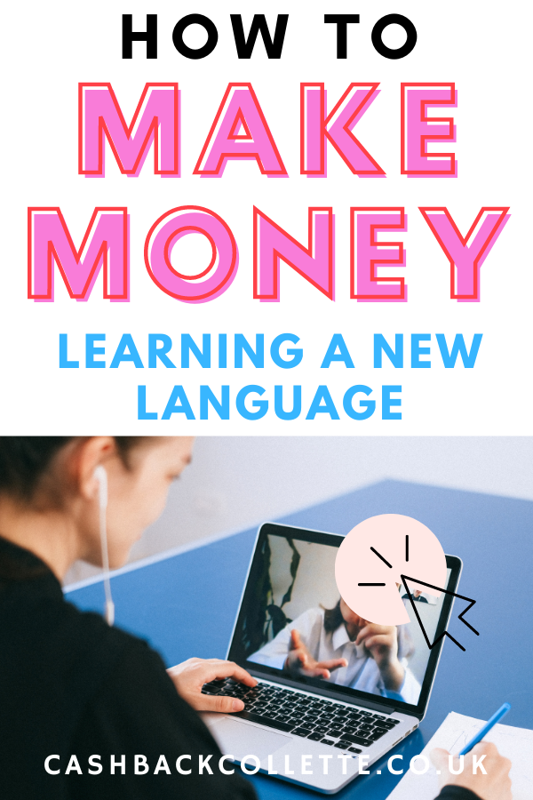 how to make money learning a new language