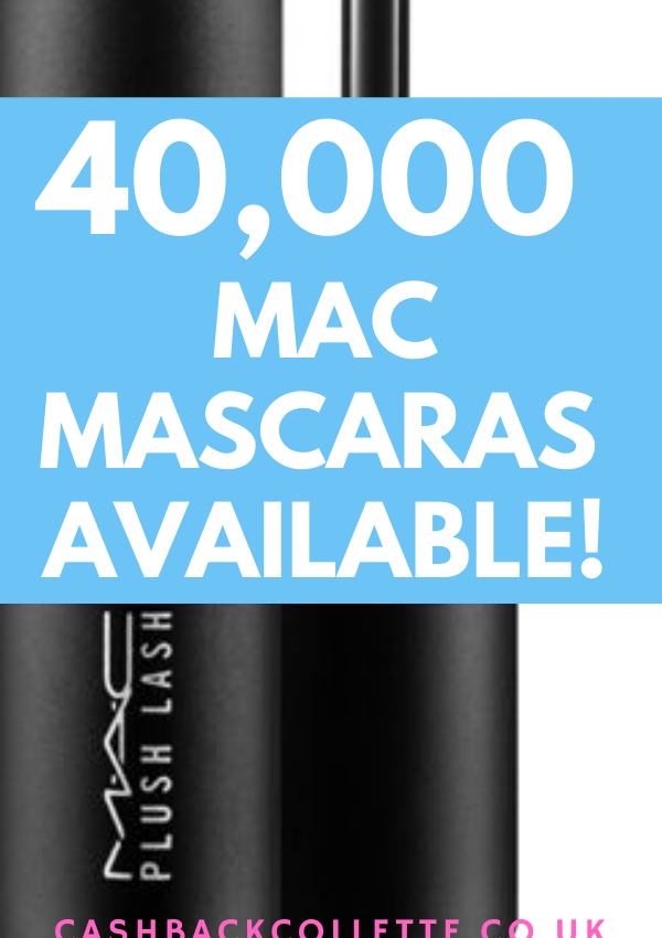 FREE MAC MASCARA