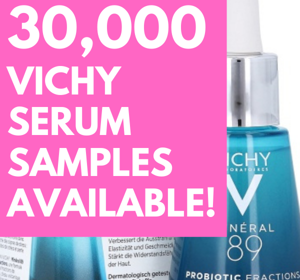 Free Vichy Mineral Serum – 30,000 Available