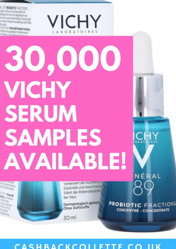 free vichy serum samples